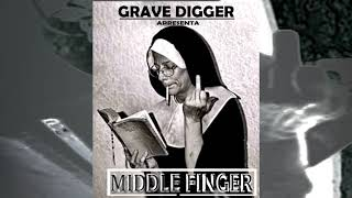 GRAVE DIGGER MIDDLE FINGER