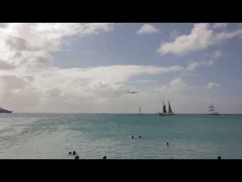 Copy of Air France A340 300 into St.Maarten