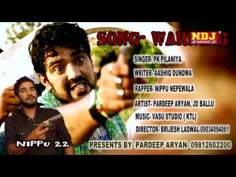 Warning De Di Sala Te | New Haryanvi Song | Pawan Pilania | Badmashi Song | NDJ Music