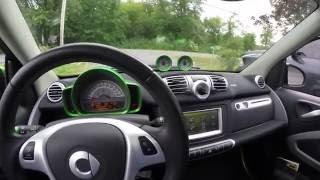 Smart Electric Car Summer Battery Range Test