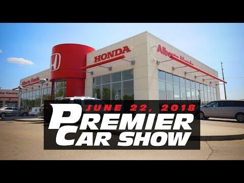Premier Car Show | Alberta Honda in Edmonton Alberta