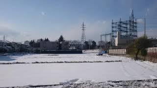 雪の西武多摩川線 thumbnail