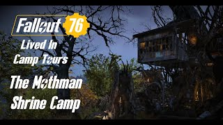 Fallout 76 Camp Tour, Building Tips & Location Ideas - The Mothman Base build