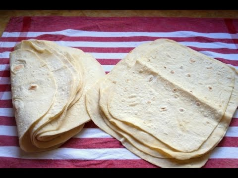 Homemade Flour Tortilla Recipe Easy And Fast How To Make Flour Tortillas