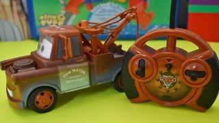 Disney Pixar Cars 2 Tow Mater Radio Control Car
