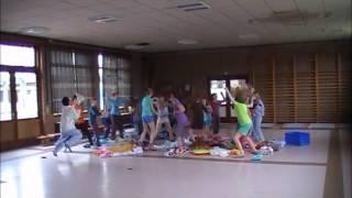 6de leerjaar VBS Sint-Pieter Kuurne met Harlem Shake