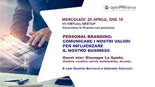 VII Virtual Meetup - Personal Branding