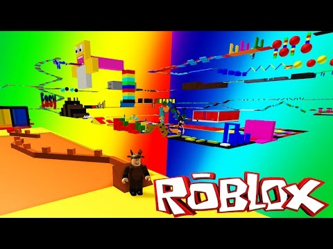 Roblox Adventures / Super Noob Obby / ESCAPING THE NOOBS!