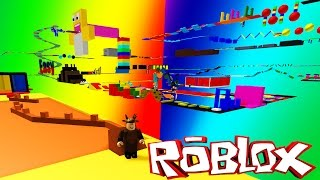Roblox Adventures / Super Noob Obby / THE HARDEST OBBY IN THE WORLD