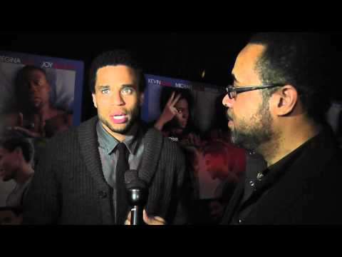 """Michael Ealy """"About Last Night"""" Interview with Myron Mays, Memphis Tn"""
