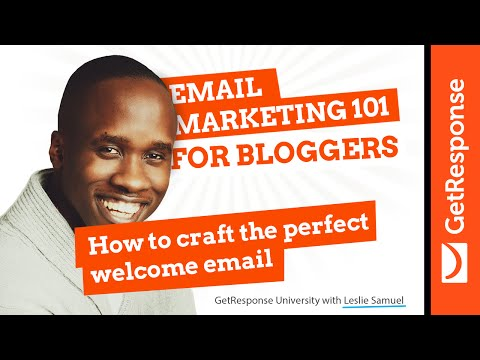 How to Craft the Perfect Welcome Email with Leslie Samuel
