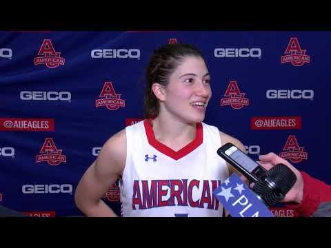 @AU_WBasketball Postgame Vs. Navy - Emily Fisher