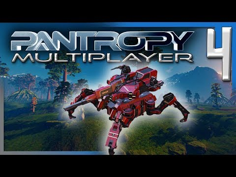 PANTROPY: TIER 3 MECH, SCOUT MINING TEST, & MORE BASE! | Pantropy Multiplayer Gameplay E