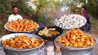 Chicken Samosa Recipe | Famous Street Food Samosa With Chicken & Sweet Corn | grandpa Kitchen
