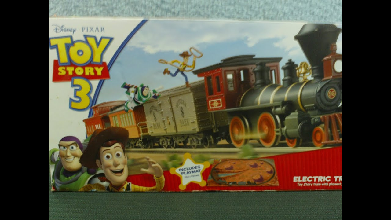 New Toy Story 3 Train : Electric model train video toy story set youtube