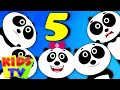 Five Little Pandas Nursery Rhymes Kids Tv Songs For Children Baby Videos mp3