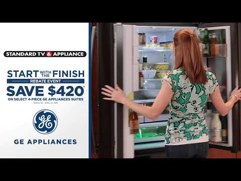 GE Appliances | Save $420 | Standard TV & Appliance