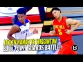 Jaylen Hands vs Lindell Wigginton ELITE Point Guard Battle! Oak Hill Academy vs Foothills
