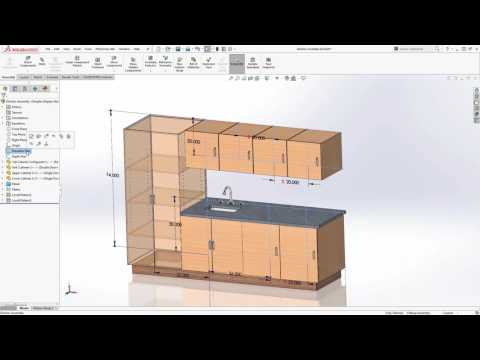Cabinetry in SOLIDWORKS - Part 1