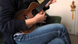 38) 黃玠, 魏如萱-香格里拉 (雞湯老師版本) (ukulele cover)