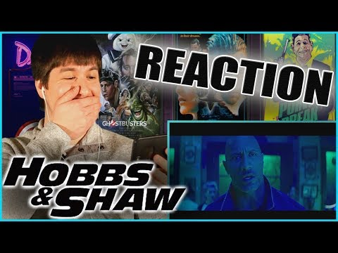 HOBBS & SHAW (2019) - Super Bowl Trailer Reaction & Review!!