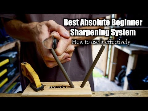 Best Beginner Knife Sharpening System Under $20 + How To Use The Lansky Turn Box Sharpening System