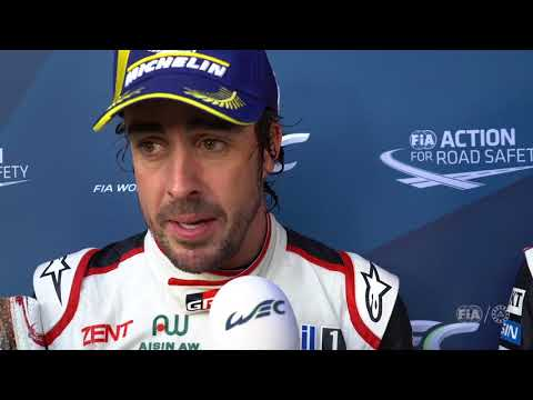 """2018 Total 6 Hours of Spa-Francorchamps - Fernando Alonso """"I'll be here all night long"""""""