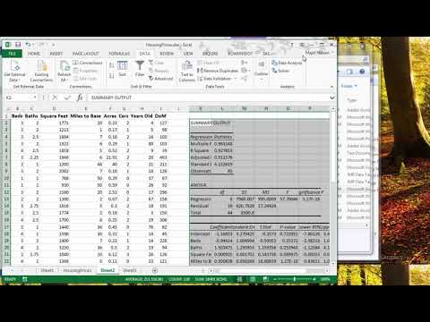 Stepwise Regression In Excel