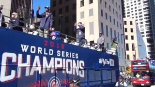 2016 Cubs Parade on Michigan Ave