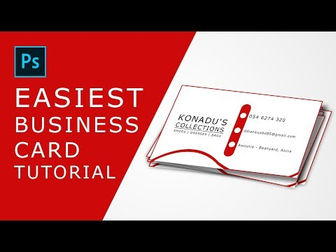 Easiest way to create a BUSINESS CARD thumbnail