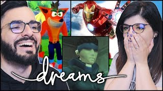 Crash, Metal Gear, Zelda e altro ricreati in DREAMS!