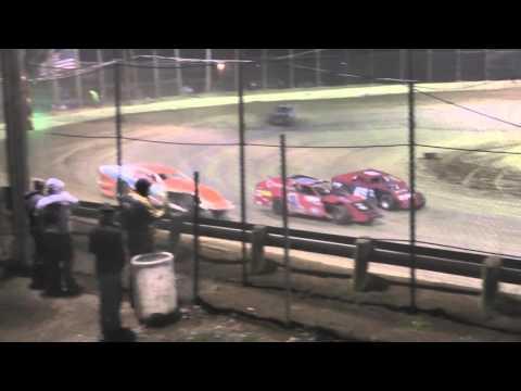 UMP Modified Heat #4 from Moler Raceway Park 11/14/15.