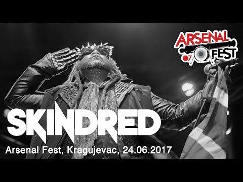 SKINDRED - Live at Arsenal Fest, Kragujevac / Serbia, 24.06.2017 (Almost Full Set, Pit Cam)