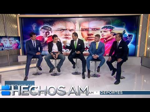 """Entrevista. Chávez Jr y """"Canelo"""" se ven las caras en Hechos AM"""