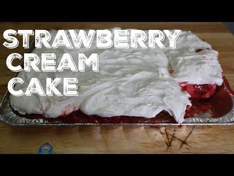 How To Make Stawberry Cream Cake