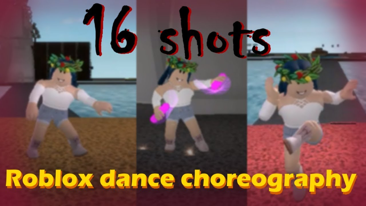 16 Shots Choreography Roblox Mocap Dancing Youtube