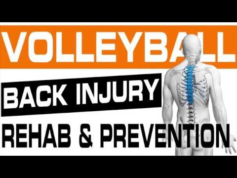 Core Training & Back Injury Exercises for Pro Volleyball Player