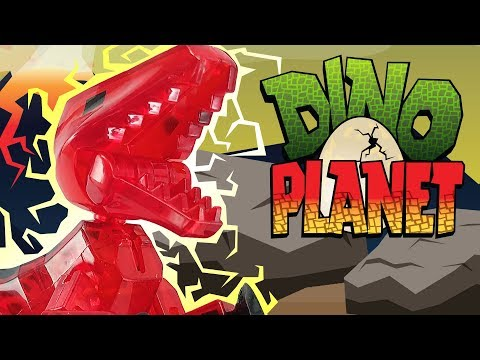Dino Planet 🦖 | S1 Ep. 1 (T-Rex Showdown)