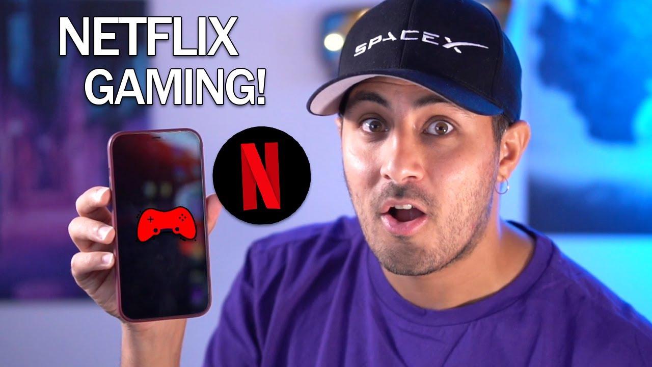 NETFLIX diventerà anche GAMING!