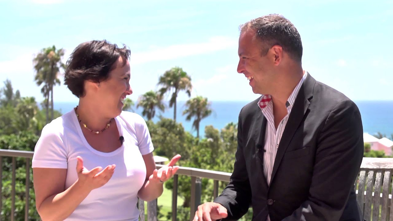 Global Fund Forum 2015 Hub Culture Bermuda with Lisa Vioni, Hedge Connection