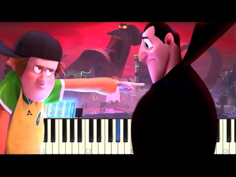 Hotel Transylvania 3 DJ Battle - Piano Tutorial
