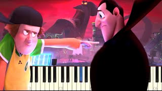 Download lagu Hotel Transylvania 3 DJ Battle - Piano Tutorial