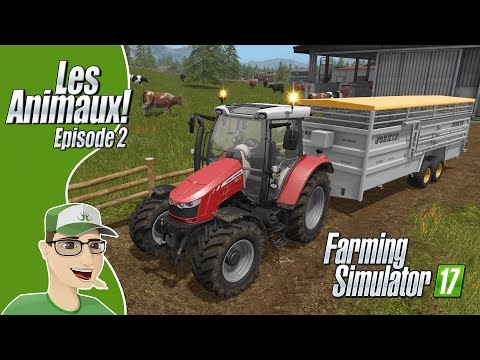 🐄 Farming Simulator 17 | Ep2 | Transport d'animaux + Achat e