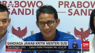 Download Video Sandiaga Jawab Kritik Menteri Susi MP3 3GP MP4