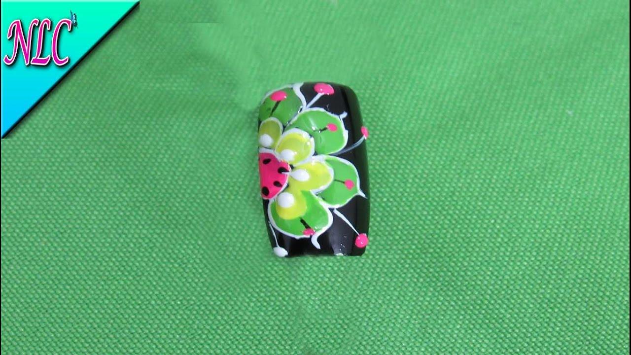 Decoración de uñas Mandalas Fácil de hacer - Mandalas nail art ...