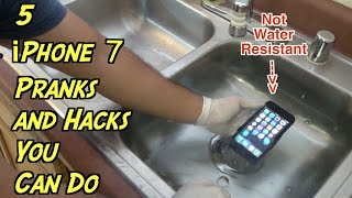 5 iPhone 7 Pranks and Hacks You Can Do - HOW TO PRANK (Life Hacks)