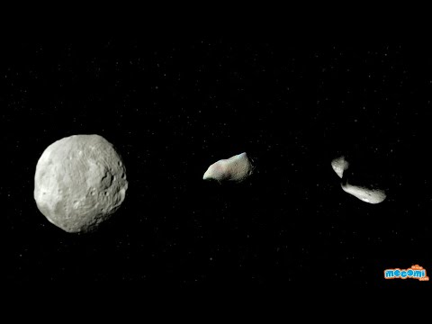 What are Asteroids? Facts & Information - Geography for Kids | Space Facts by Mocomi
