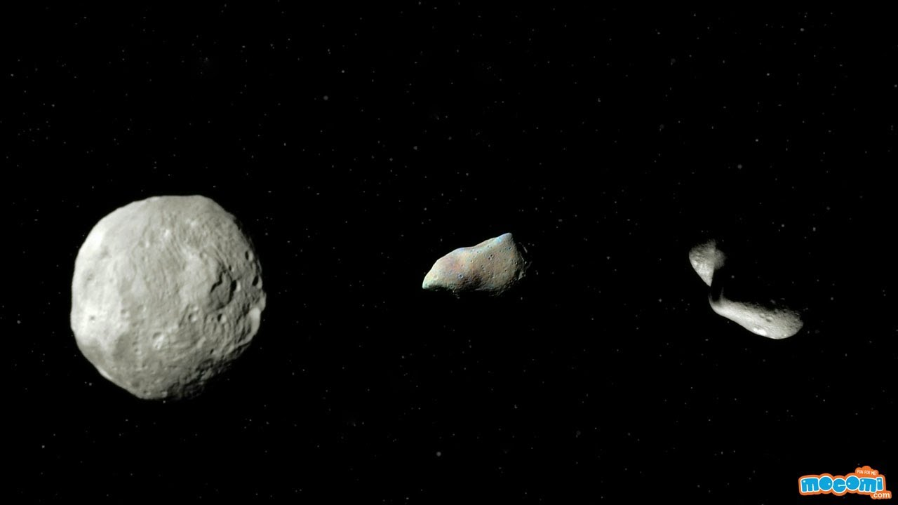 What are Asteroids? Facts & Information - Geography for Kids | Space Facts by Mocomi - YouTube