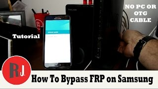 How to bypass Factory Reset Protection on Samsung devices without  PC or OTG new crazy method thumbnail