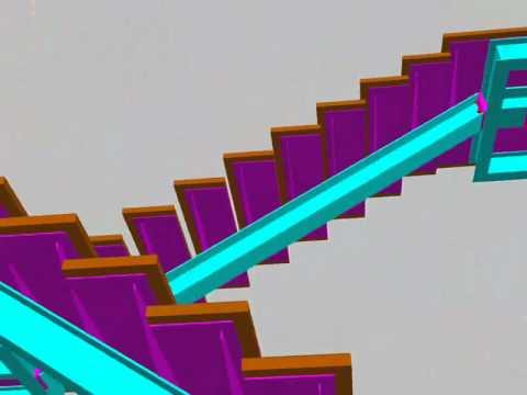 Escalera con madera youtube for Escalera de madera 5 pasos